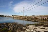 Puente cribstone — Foto de Stock
