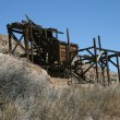 Old mine entrance - Stock Photo