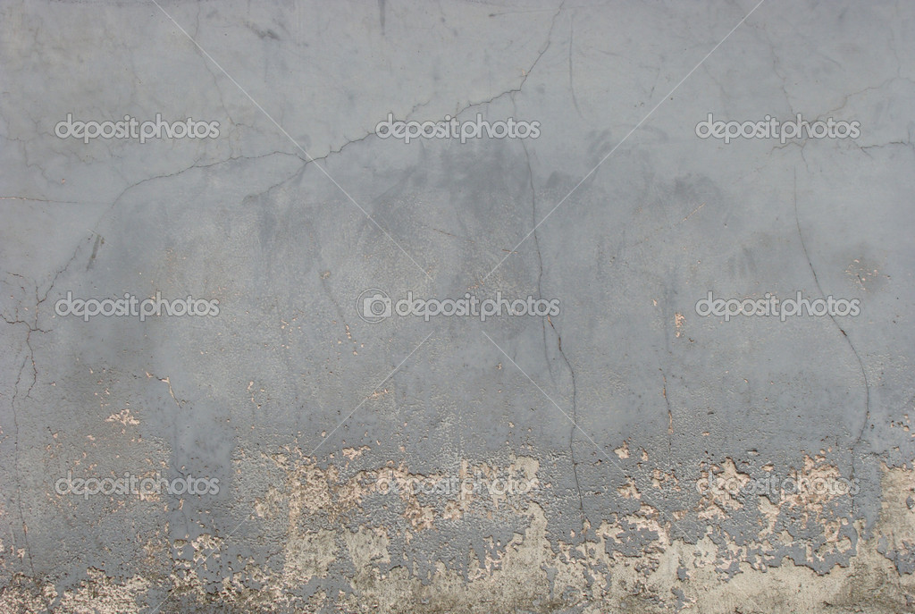Schmutzige getragene grau rosa blauen Wand gemalt — Stockfoto ...