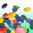 Graphical shaded illustration of candy — Stock Photo #3156279