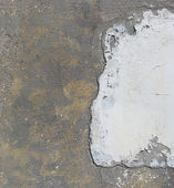 Dirty wall with pores partially white — Stock Photo