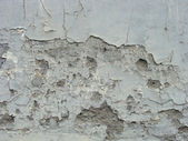 Worn damaged gray blue wall — Stock Photo