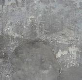 изношенные серая стена с облупленной краской синего поврежденных — Стоковое фото