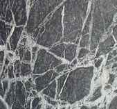 Black white wavy vein marble sheet slab — Stock Photo
