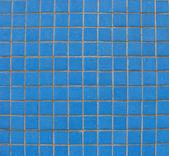 Blue tiles mosaic pattern — Stock Photo