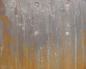 Flamed rust pattern on metal — Stock Photo