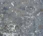 Blue gray dirty wall with leftover paint — Stock Photo
