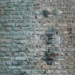 Stock Photo: Dirty worn factory wall with blue tint
