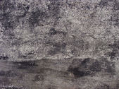 Black and white painted worn dirty wall — Stock Photo