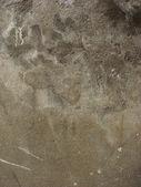 Sujo desgastado cinza bege marrom parede — Foto Stock