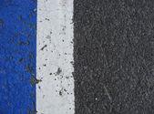 Biały niebieski szary nawierzchni chodnika — Zdjęcie stockowe