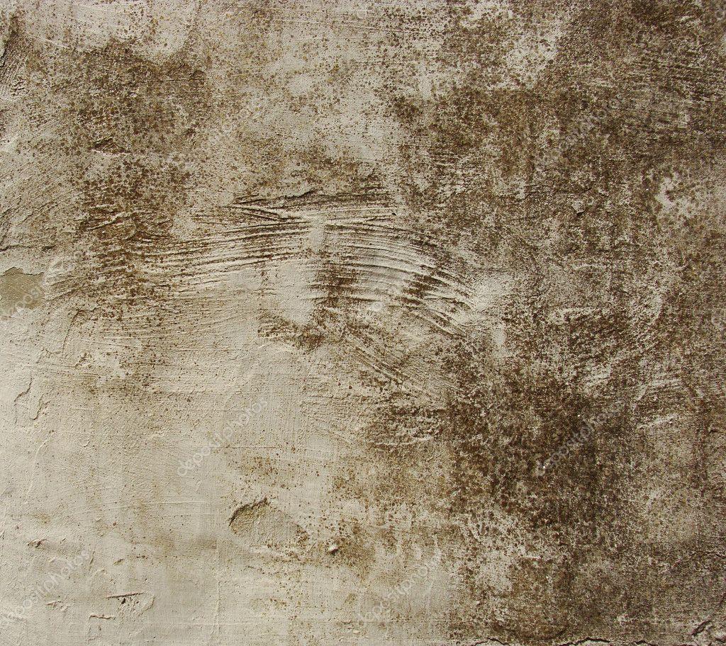 Sale mur brun beige avec quelques b tises peinture qui s - Peinture qui s ecaille ...