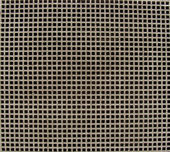 Close view of a metal ventilation shaft — Stock Photo