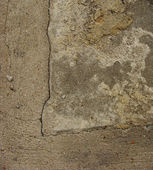 Dirty worn beige brown gray concrete — Stock Photo