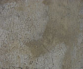 Delicate soft crackled paint on a dirty gray brown worn wall — Stock Photo