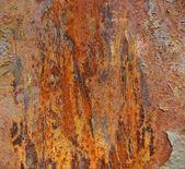 Flame like shaped rust pattern — Stock Photo