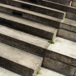 Concrete steps stairs in different sizes - Foto Stock