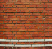 Red and white brick wall — Stock Photo