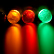 Stock Photo: Color leds