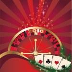 Casino card, vector — Stock Vector #3019542