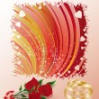 Royalty-Free Stock Imagen vectorial: Wedding greeting card, vector