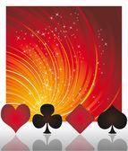 扑克赌场矢量 — 图库矢量图片