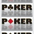 Royalty-Free Stock Vectorielle: Poker elements. vector