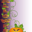 Halloween card, vector - Stockvectorbeeld