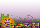 Halloween banner, vector — Stock Vector