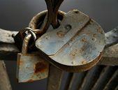 Rusty Locks — Stock Photo