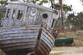 Old Fisherman Boat. — Stock Photo