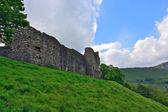 Ruínas do Castelo de Peveril — Fotografia Stock