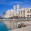 Landscape of Molfetta Seaport. Apulia. — Stock Photo
