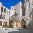Square in Giovinazzo Oldtown. Apulia. — Stock Photo #3018092