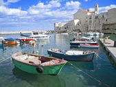 Landscape view of Giovinazzo. Apulia. — Stock Photo