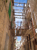 Alley in Molfetta Oldtown. Apulia. — Stock Photo