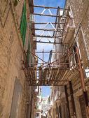 Alley in Molfetta Oldtown. Apulia. — Stock Photo