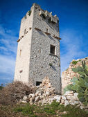 Ancient abandoned Tower.Giovinazzo. — Stock Photo