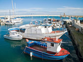 Landscape view of Monopoli port. Apulia. — Stock Photo