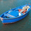 Rowboat in blue sea. — Stock Photo #3024721