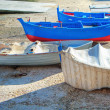 Boats at Monopoli tourist seaport. Apulia. — Foto Stock