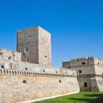 Norman-Swabian Castle of Bari. Apulia. — Stock Photo