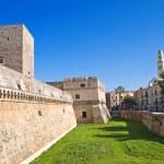 The Norman-Swabian Castle.Bari. Apulia. — Stock Photo
