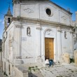 Matera Church.Basilicata. — Stock Photo