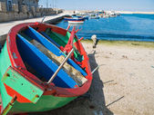 Giovinazzo seaport. Apulia. Italy. — Stock Photo