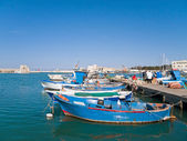 Trani seaport. Apulia. — Stock Photo