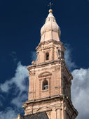 Belltower. Monopoli Cathedral. Apulia. — Stock Photo