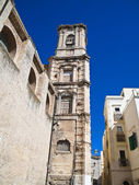 St. Chiara Church. Bari. Apulia — Stock Photo