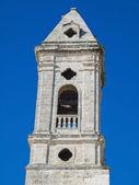 Belltower. Oldtown of Bari. Apulia. — Stock Photo