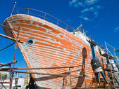 Shipyard. — Stock Photo